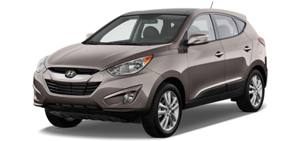 Hyundai Tucson midsize SUV now available at Avis Haiti