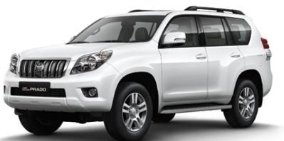 Toyota Land Cruiser Prado full size SUV now available at Avis Haiti