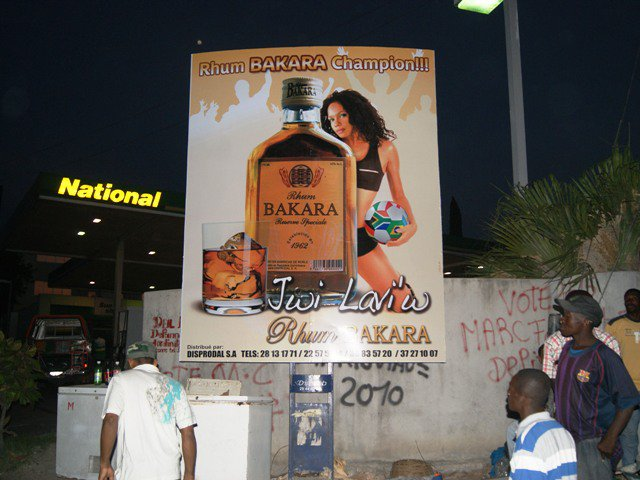 Rhum Bakara Billboard by DigiLab Haiti
