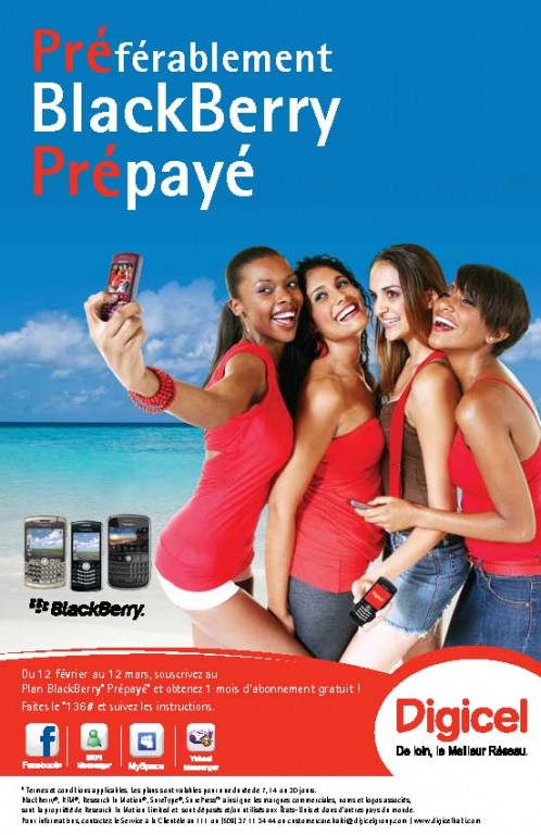 Preferablement Blackberry Prepaye