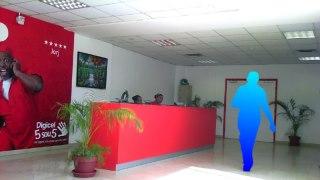 Inside Digicel Haiti Headquarters at Turgeau