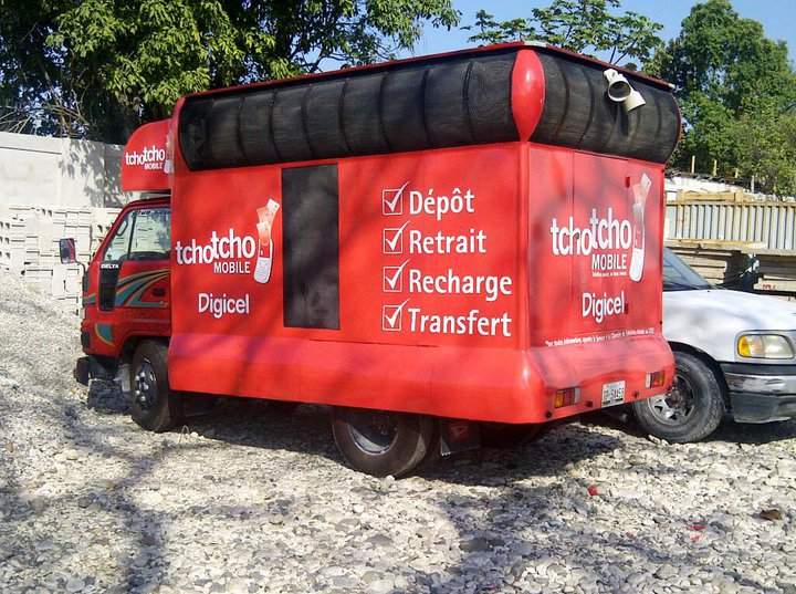 Digicel Haiti Tcho Tcho Mobile Promotional Vehicle
