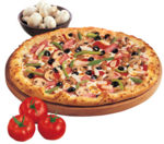 Extravaganzza Pizza from Domino's Pizza Haiti