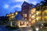 Karibe hotel haiti front entrance