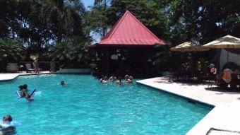 Pool at the Karibe Hotel