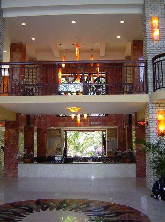 Bar at the Karibe Hotel