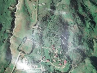satellite view of ranch le montcel, kenscoff haiti