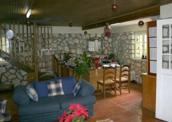 foyer at ranch le montcel haiti