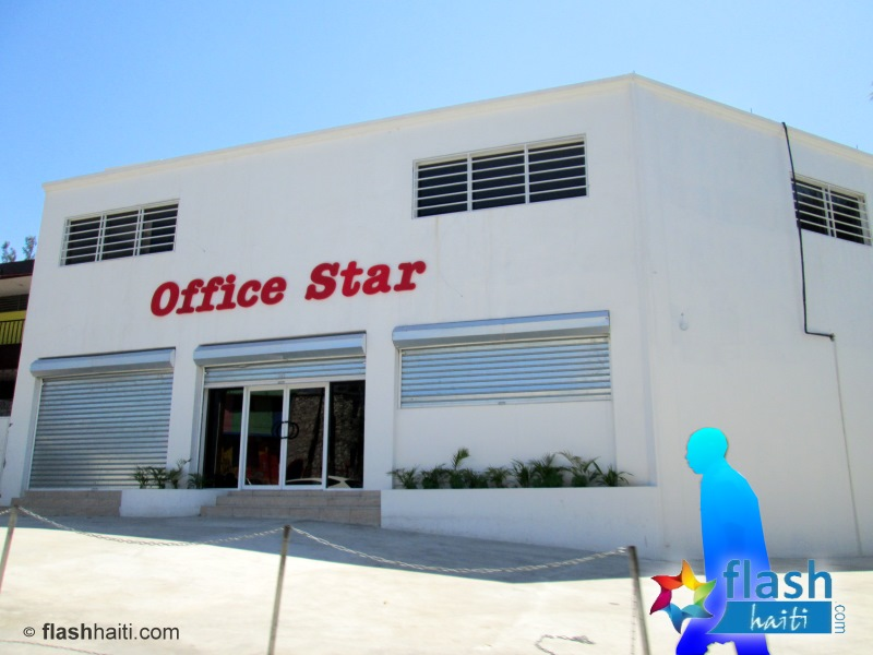 new office star location on Delmas, Port-au-Prince Haiti