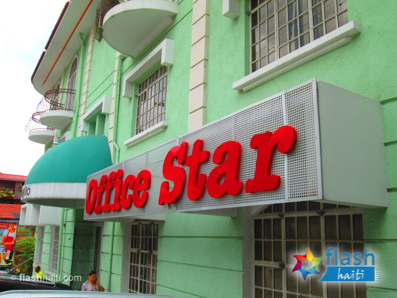 office star haiti 3d sign