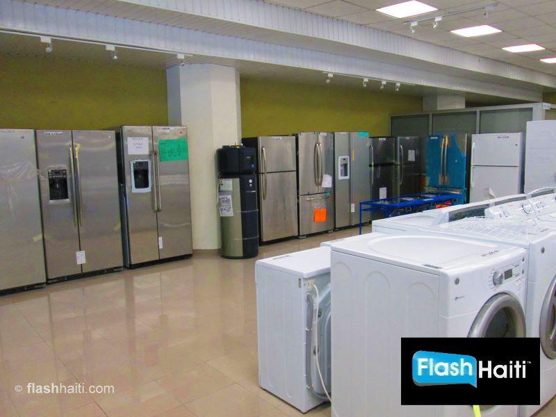 Valerio Canez Haiti Electromenager Refrigerateur Stove