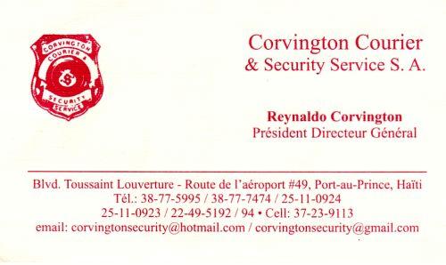 Corvington Courier & Security Service S.A.