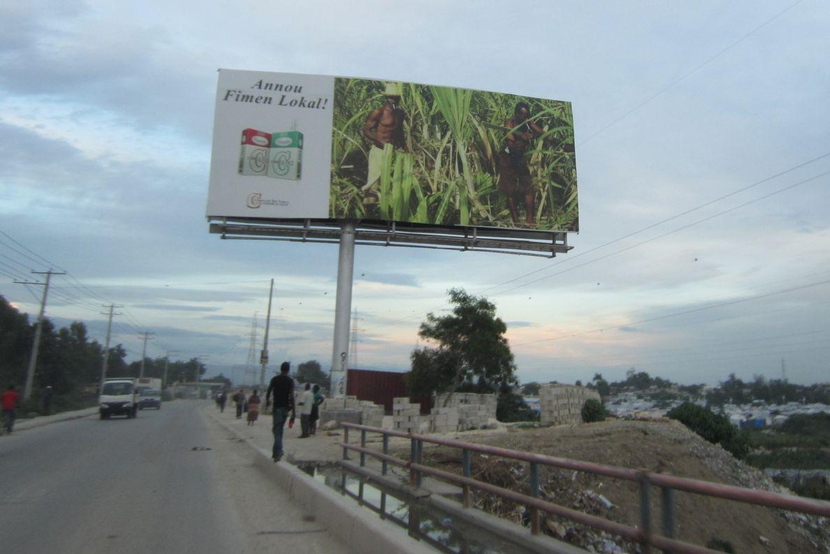 Haiti Billboard