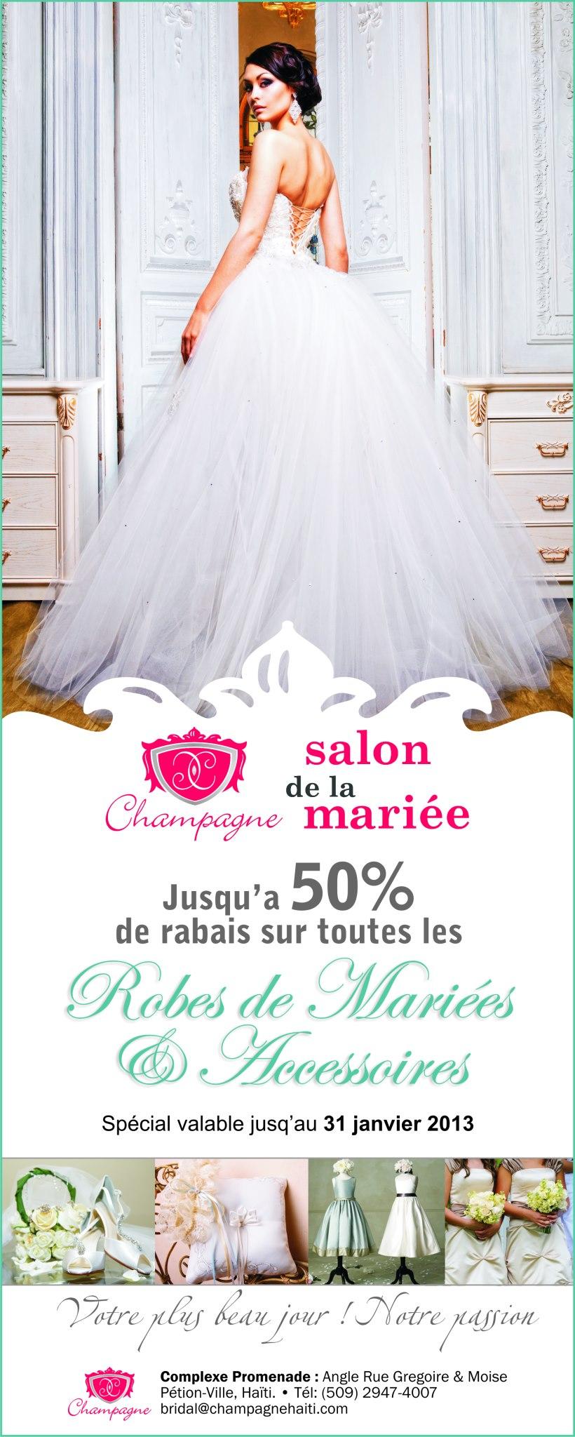 Champagne Salon de la Mariee