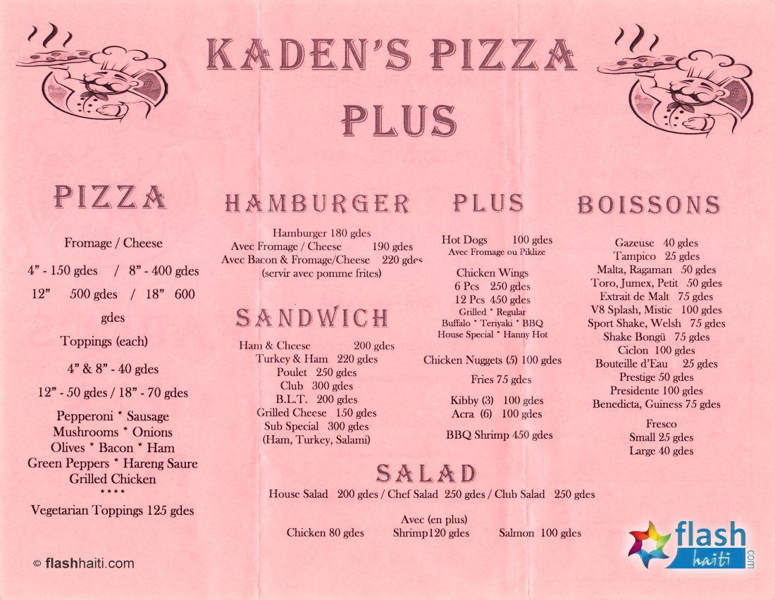 Kaden Pizza