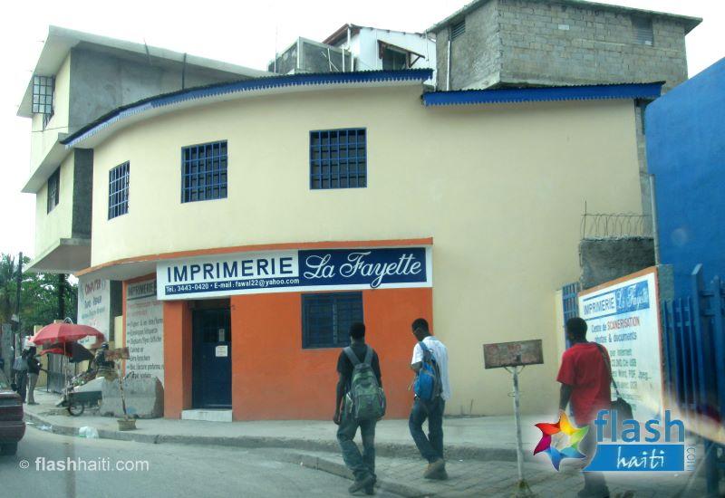 Imprimerie La Fayette