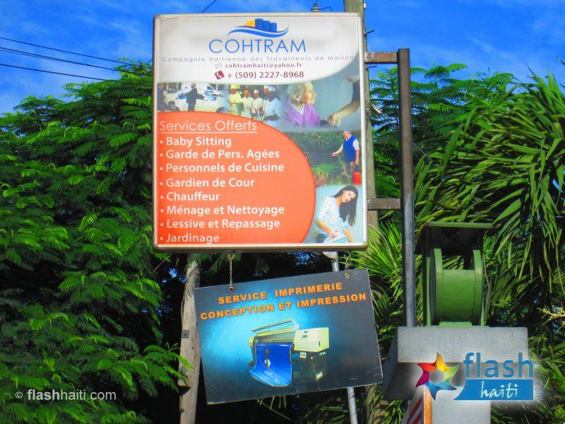 COHTRAM (Compagnie Haitienne des Travailleurs de Maison)