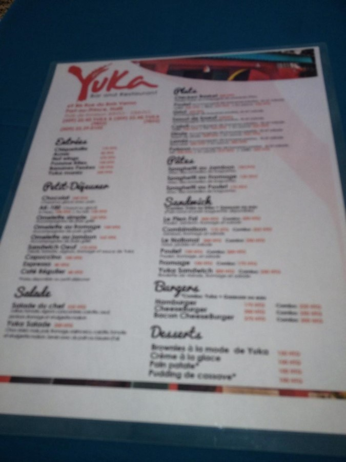 Yuka Bar and Restaurant