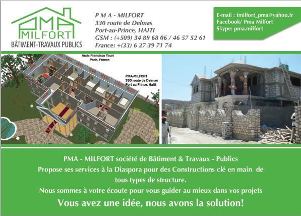 PMA - Milfort, Batiment & Travaux Publics
