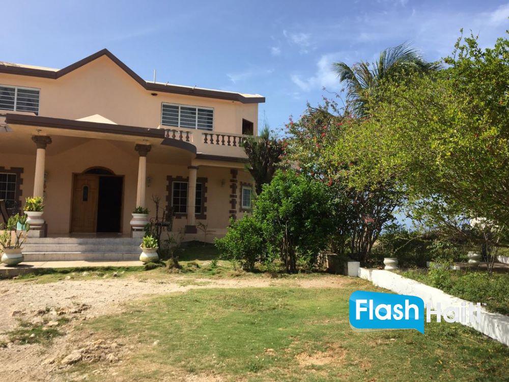 FOR INVESTORS: Oceanfront Bar Restaurant & Guesthouse for Sale in Jacmel