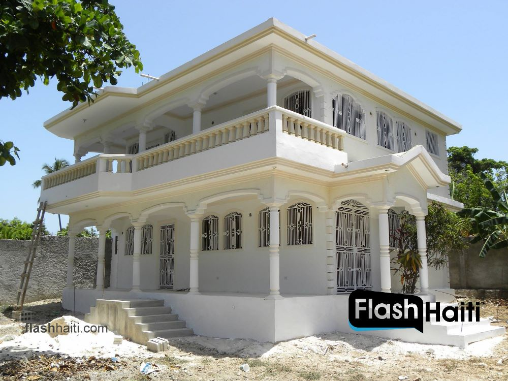Two story house for sale in meyer jacmel for 2 storey house for sale