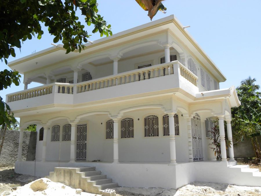 Small house for sale in jamcel haiti two story house in for 2 storey house for sale