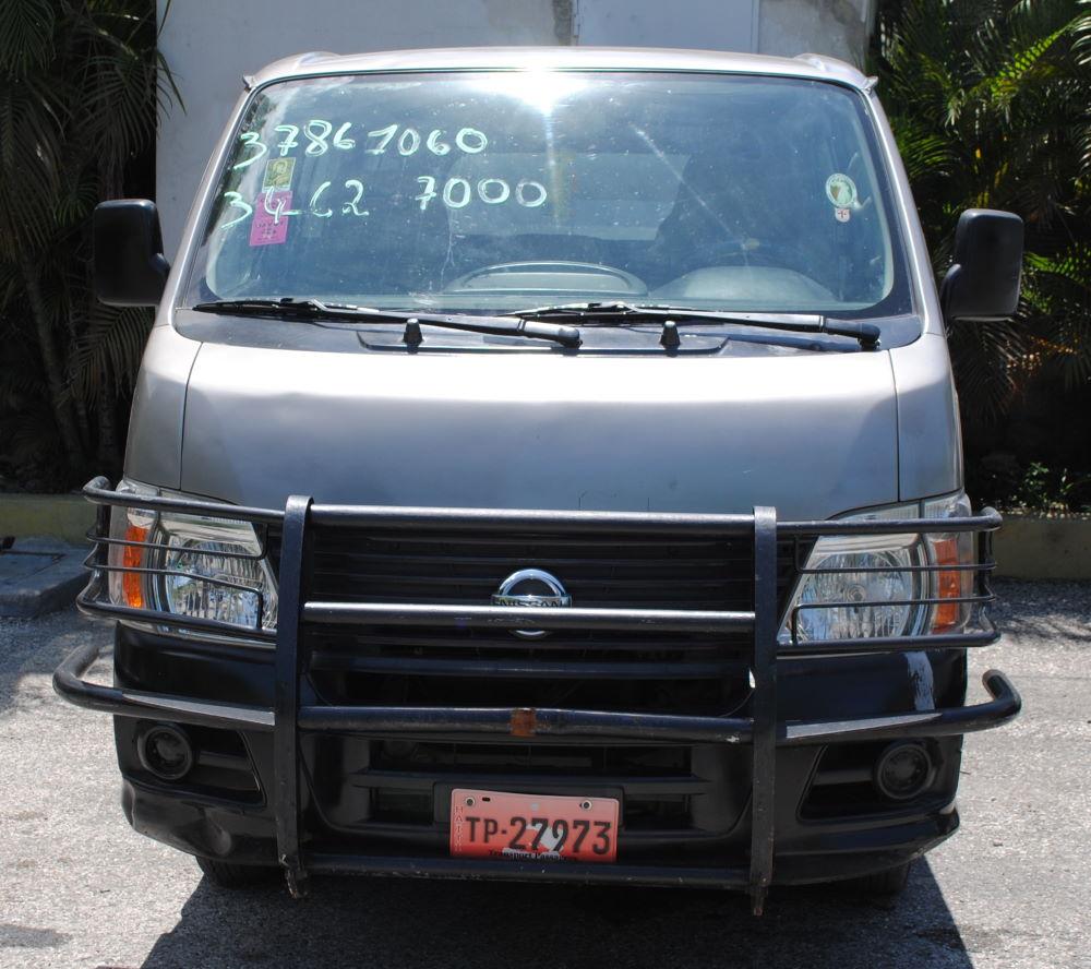 Car For Sale In Haiti: 2009 Nissan Bus For Sale In Haiti At Universal Motors