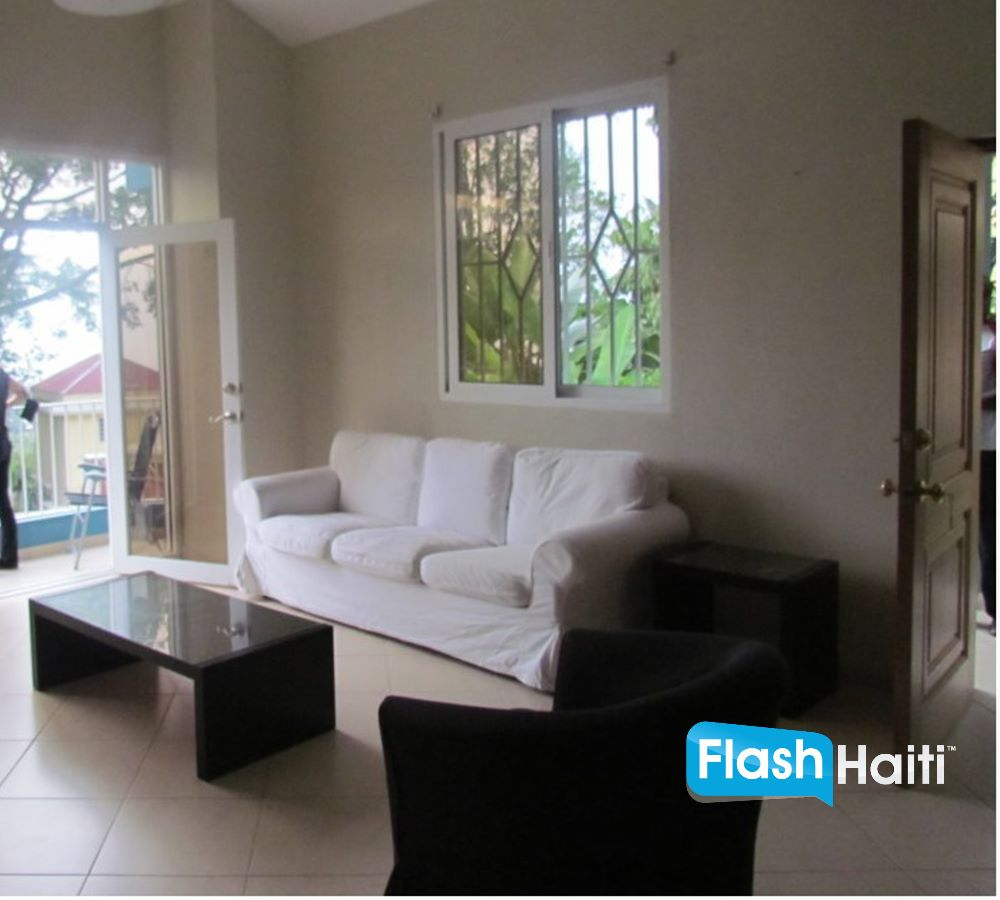 3 Bed, 2 Bath House For Rent at Petion-Ville