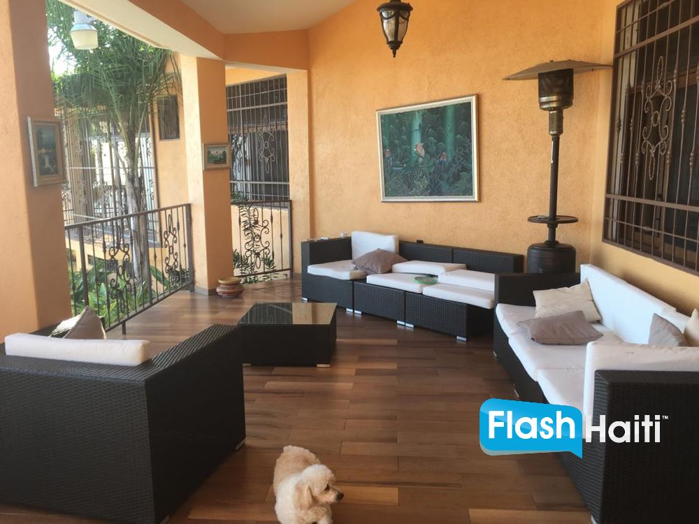 Beautiful Luxury House with Pool for Sale at Laboule, Haiti