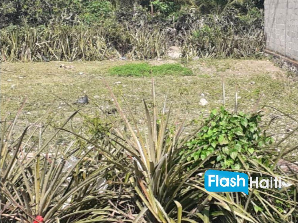 Terrain A vendre au Madeline, Cap-Haitien