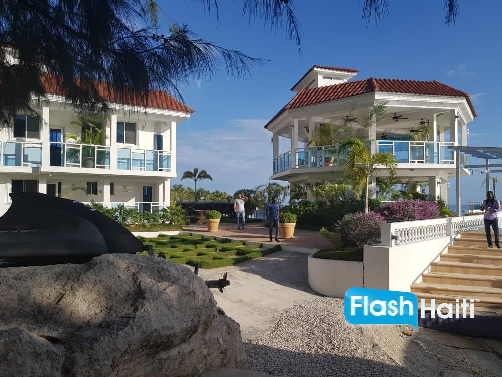 Furnished Beachfront Property for Sale at Montrouis