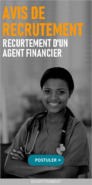 Avis de recrutement D'un Agent Financier