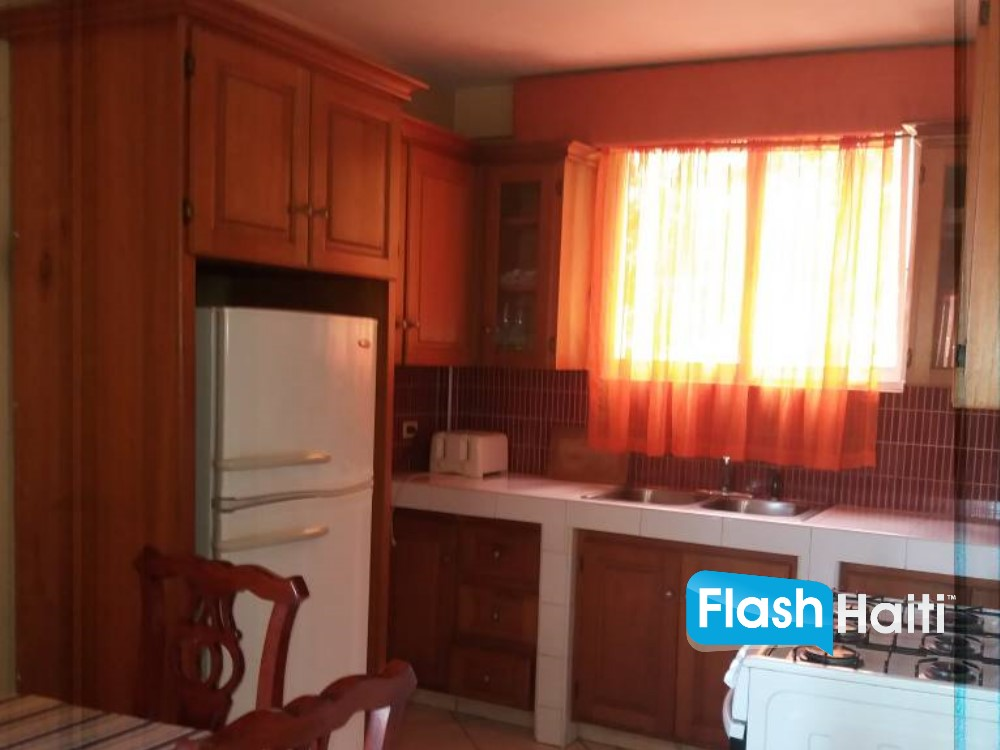Fully furnished 2 Bed, 2 Bath Apartment in Petion-Ville