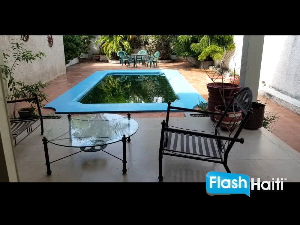 Furnished House for Rent in Belvil
