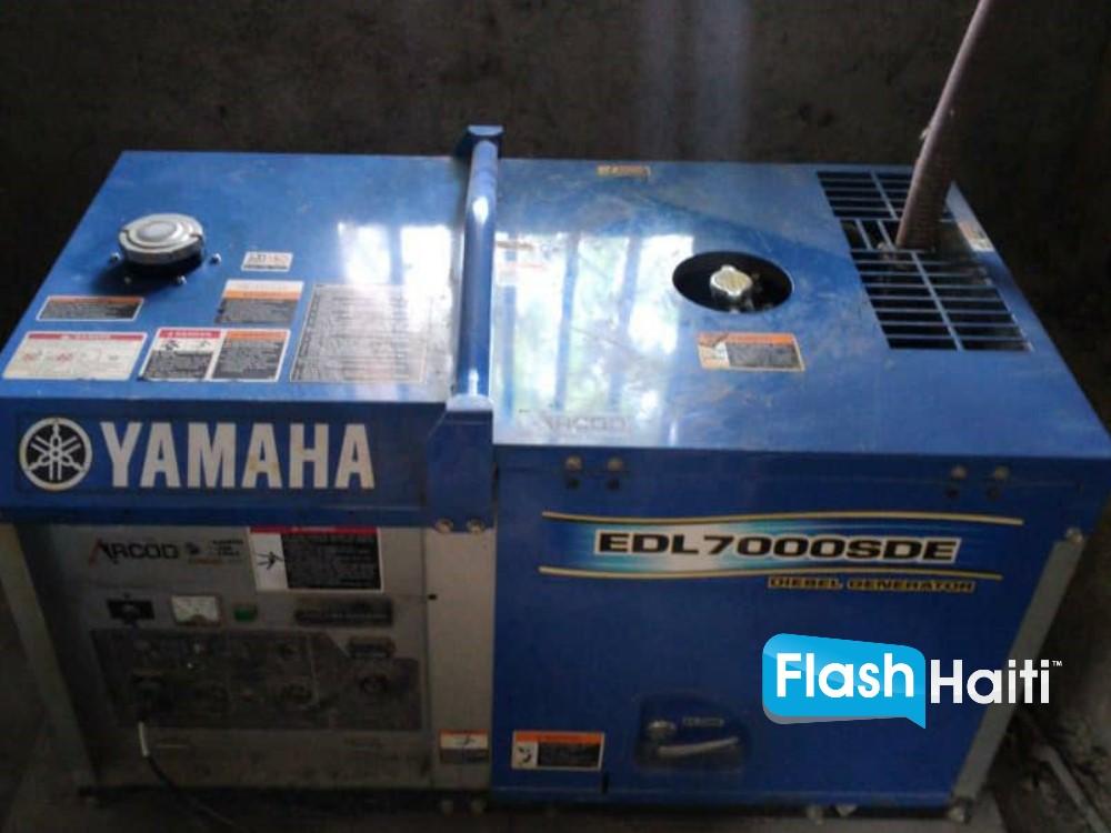 7KW Yamaha Generator (Diesel)