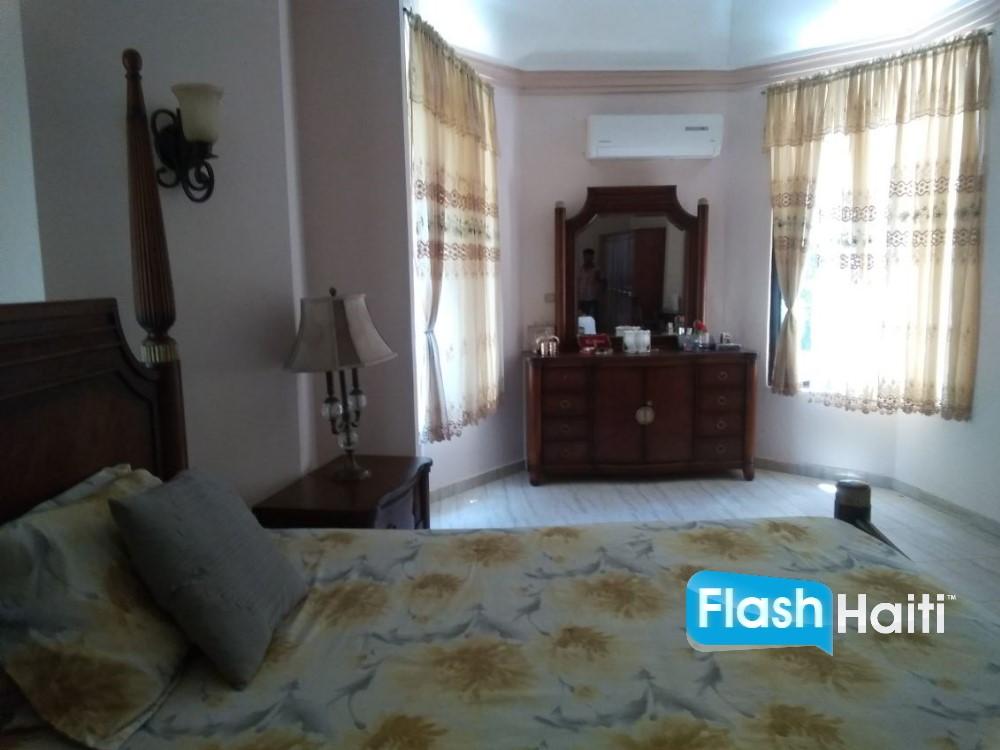 Furnished House at For Rent at Juvenat