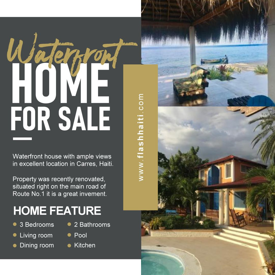 Waterfront Home for Sale in Carries