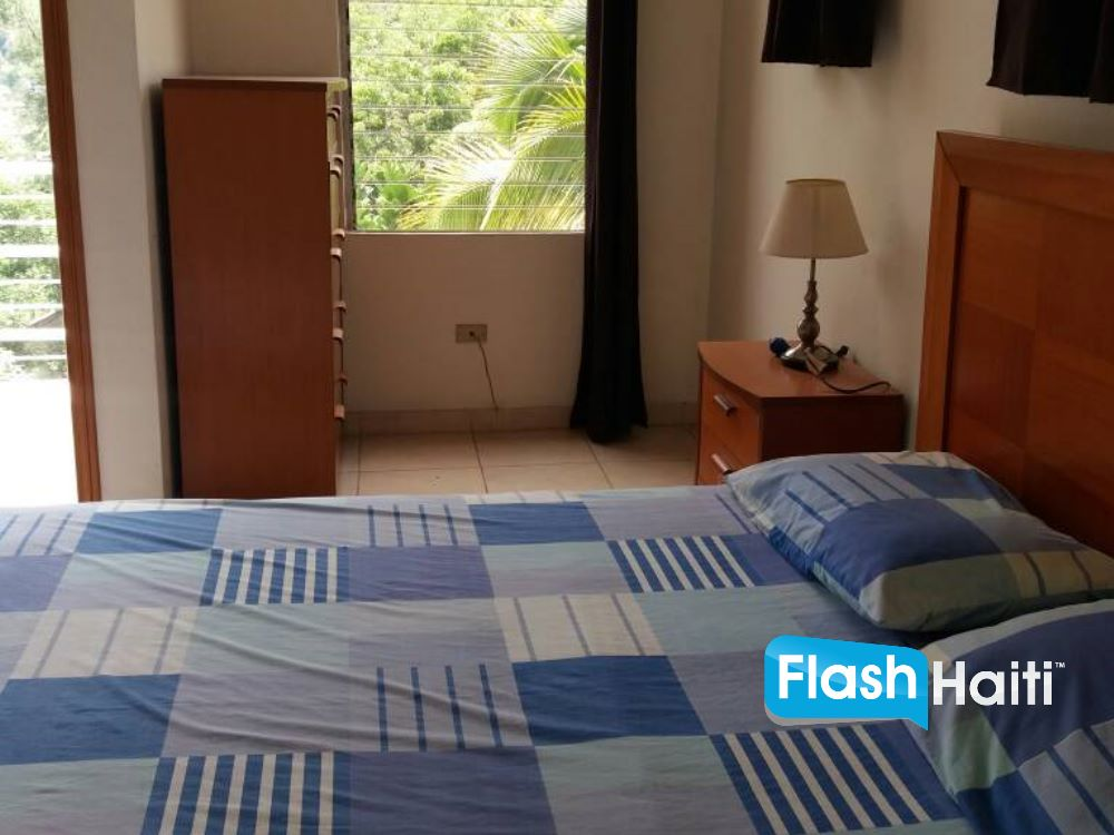 2 Bed, 2 Bath Apartment with Pool at Morne Calvaire
