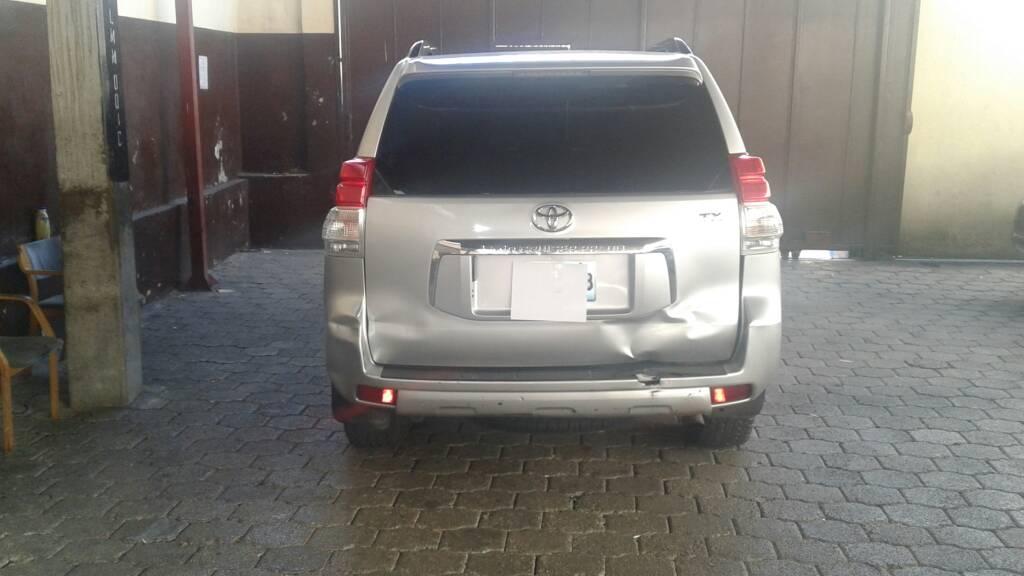 2011 Toyota Prado -  Armored / Blindé (Lite Gray)