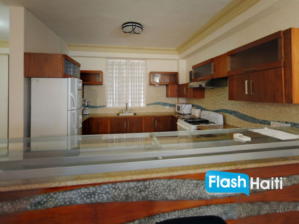 2 Bed, 2 Bath Apartment at Petion-Ville