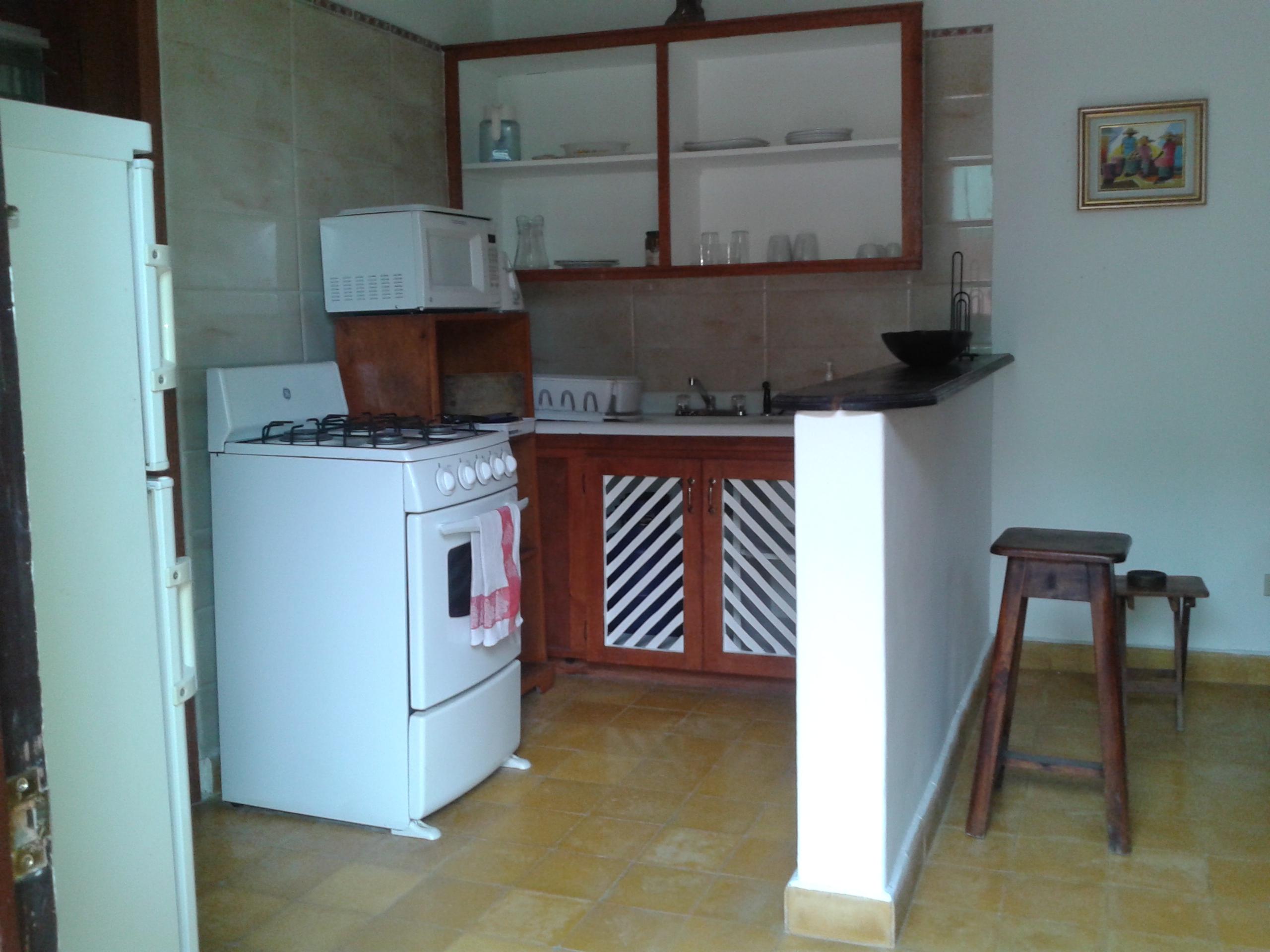 Fully furnished 1 bedroom studio for rent in Montagne Noire Pétion Ville