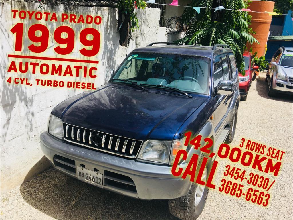 Dealtech Auto Sales- Prado 1999