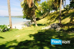 1 Acre of Beachfront Property in Port Salut, Cayes