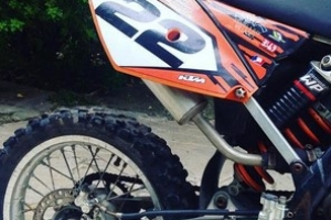 KTM 85cc 2 Stroke Motorcross Bike