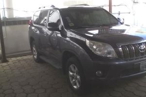 2011 Toyota Prado (B4 Armored)