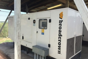 110 Kw Broadcrown Diesel Generators