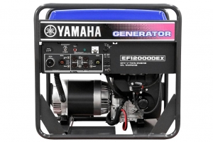Yamaha 12,000 watts gas generator. Power whole. House with AC