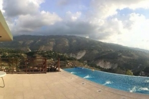 Fully furnished, all Inclusive 2 Bed, 1 Bath Apartment w/ Infinity Pool at Laboule