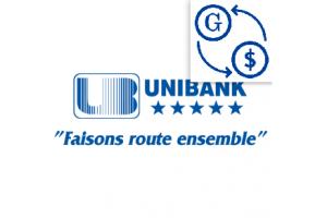 Taux du jour Unibank 2018