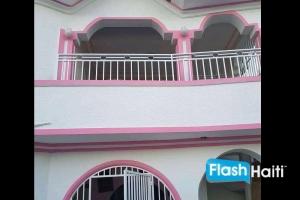 Maison 2 Chambres, 2 Toilettes à louer à Tabarre